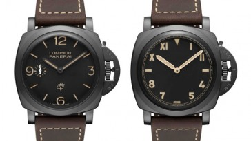 Take A Look At This Two Panerai Luminor 1950 3Days Titanio DLC Watches Replica PAM00617&PAM00629