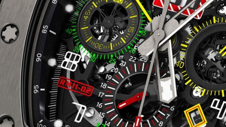 The Dual Time Zone Replica Richard Mille RM 11-02 Automatic Flyback Chronograph Piece