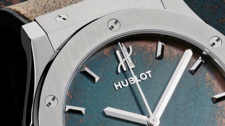 Hublot Classic Fusion Vendome Blue replica watch