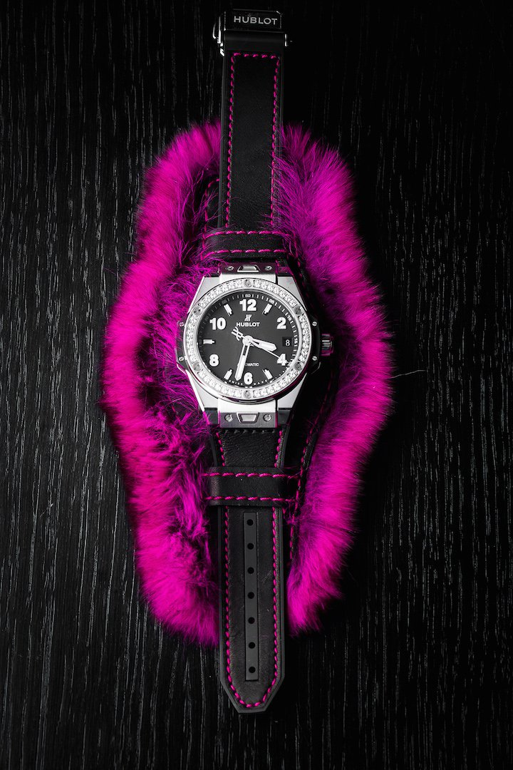 Hublot Big Bang One-Click Cuddly Cuff replica watch
