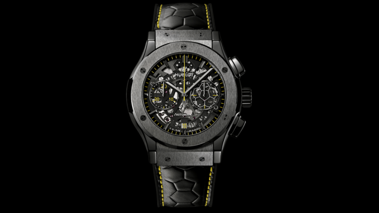 Hublot Classic Fusion Aero Chronograph Black Magic replica